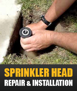 we can repair all types of sprinkler heads